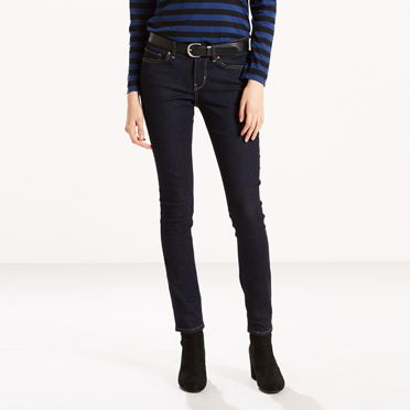Levis 711 Skinny Jeans Lone Wolf