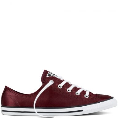 Chuck Taylor All Star Dainty Satin Red grande taille