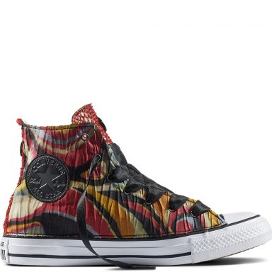 Chuck Taylor All Star Satin Snake Embossed Red grande taille