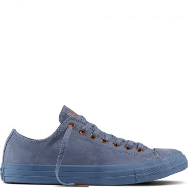 Chuck Taylor All Star Suede Blue grande taille