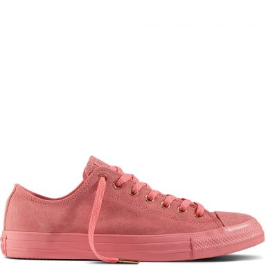 Chuck Taylor All Star Suede Pink grande taille