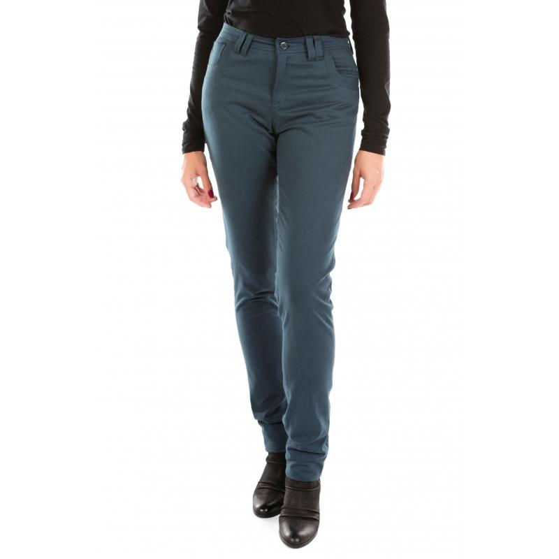 Jeans bleu pétrole Flamenzo - Femme grande