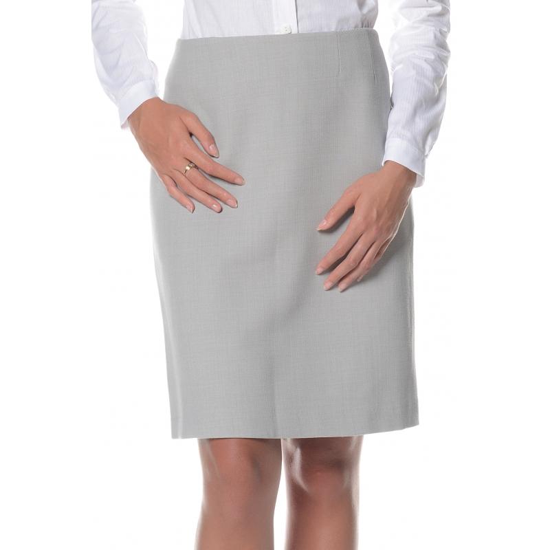 Jupe grise sans ceinture Flamenzo - Femme grande