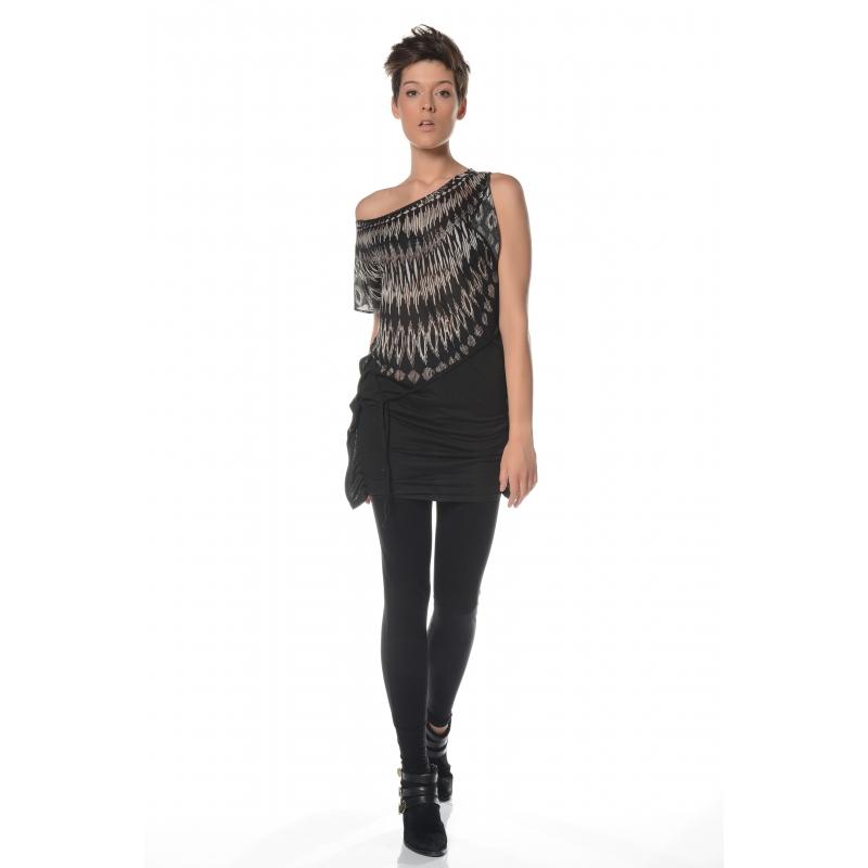 Legging noir Flamenzo - Femme grande