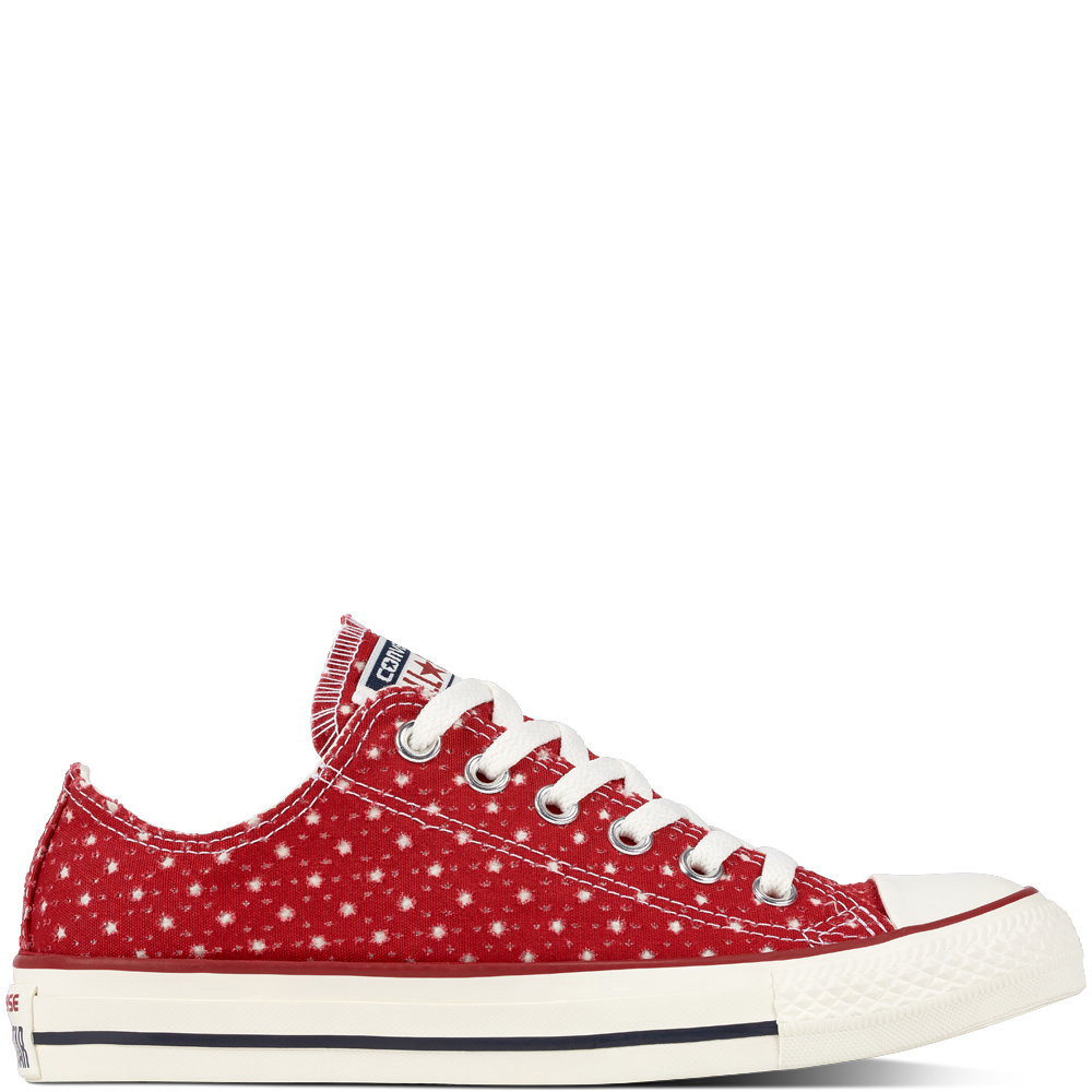 Chuck Taylor All Star Perf Stars Red Blue grande taille