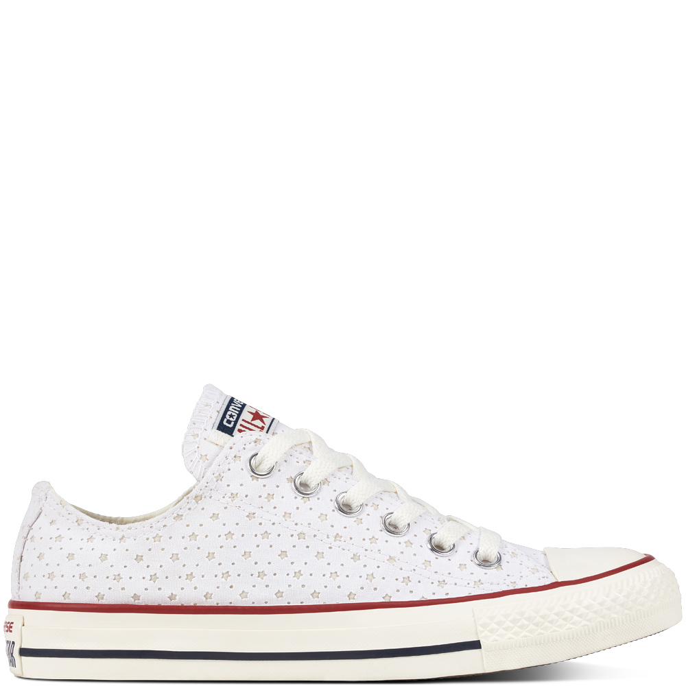 Chuck Taylor All Star Perf Stars Red White grande taille