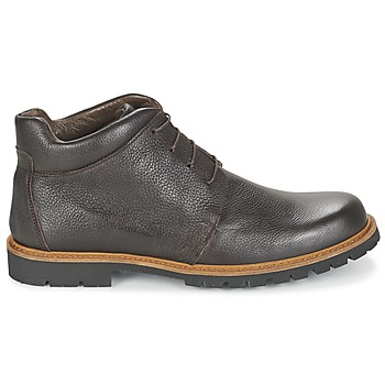 Boots marron grande taille WOOD