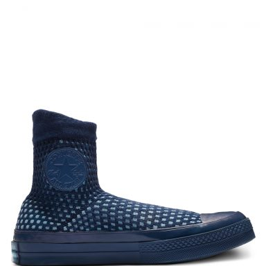 Chuck 70 High Top Mason Blue/Shoreline Blue grande taille