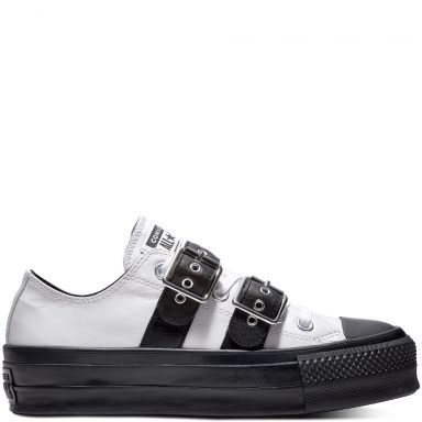 Chuck Taylor All Star Lift Buckle Low Top Black grande taille