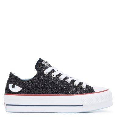 Converse x Chiara Ferragni Chuck Taylor All Star Lift Low Top Black grande taille