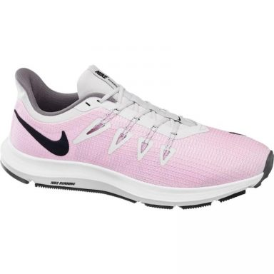 Baskets de course Quest rose grande taille