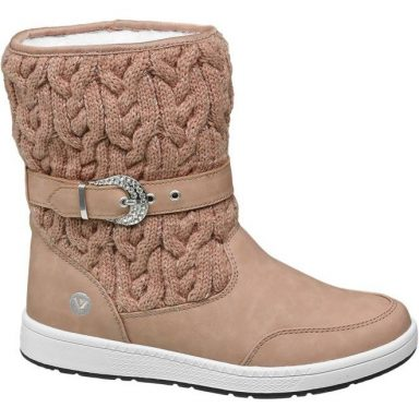 Boots beige grande taille