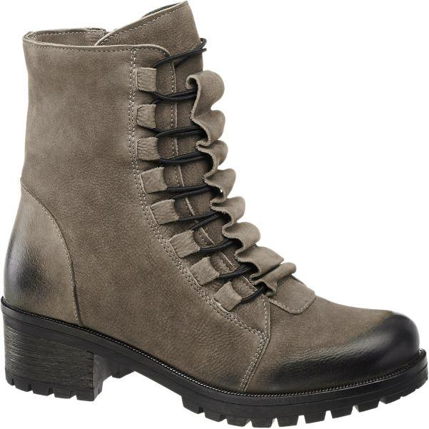 Boots taupe grande taille