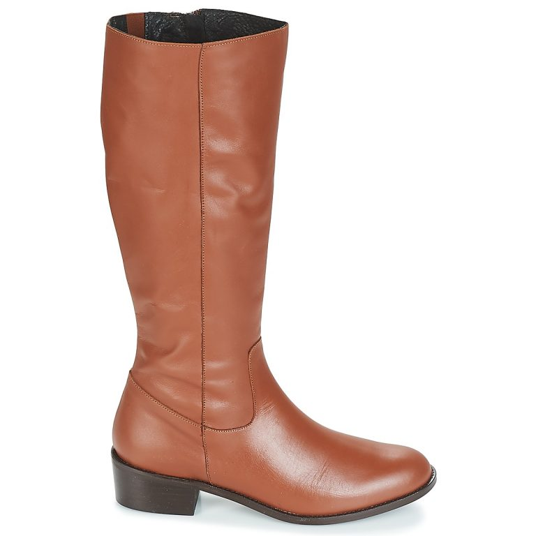 Bottes marron grande taille CUOER