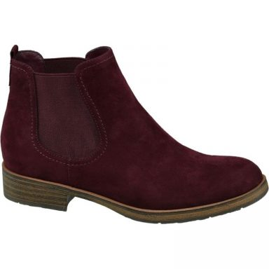 Bottines bordeaux grande taille