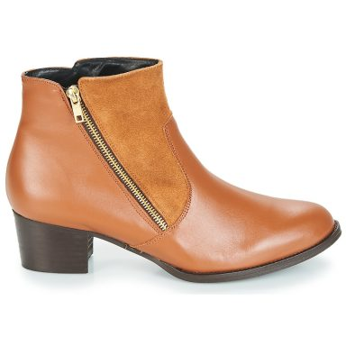 Bottines marron grande taille JOCASSU
