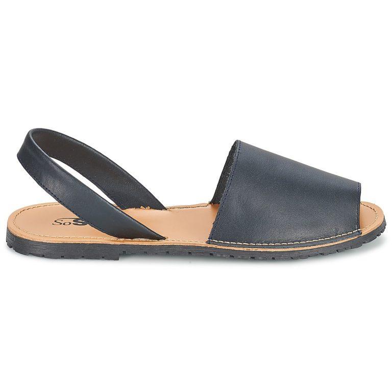 Sandales bleu grande taille LOJA