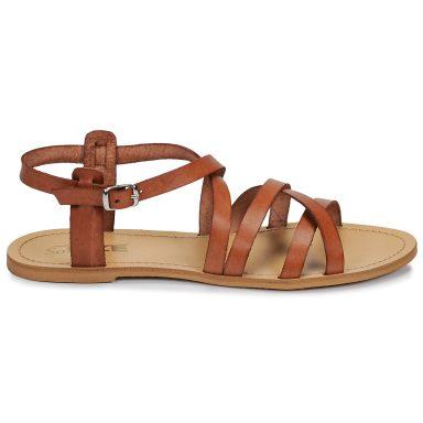 Sandales marron grande taille IDITRON