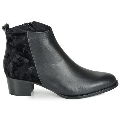 Bottines noir grande taille GUILERMO