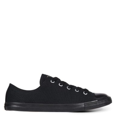 Chuck Taylor All Star Dainty Low Top Black grande taille