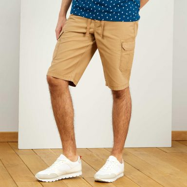 Bermuda esprit battle beige - Homme grand
