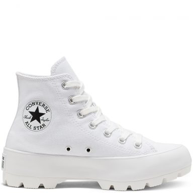 Chuck Taylor All Star Lugged à tige montante Black grande taille