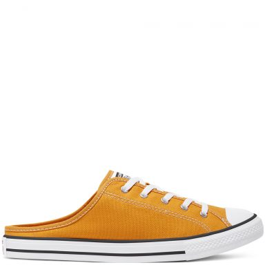 Chuck Taylor All Star Seasonal Color Dainty Mule Slip pour Femme Sunflower/Sunflower/White grande taille