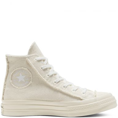 Renew Cotton Chuck 70 High Top Egret/Natural/Egret grande taille