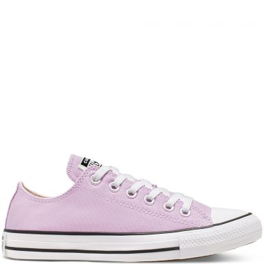 Seasonal Color Chuck Taylor All Star à tige basse unisexe Lilac Mist grande taille