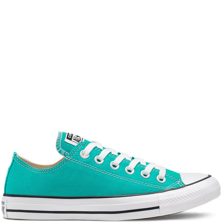 Seasonal Color Chuck Taylor All Star à tige basse unisexe Turbo Green grande taille