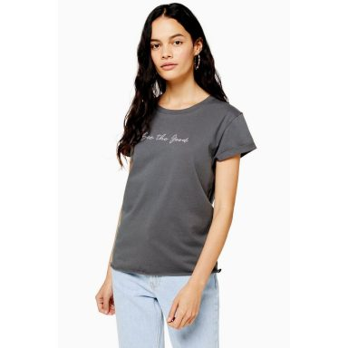 T-shirt See The Good anthracite - Femme grande
