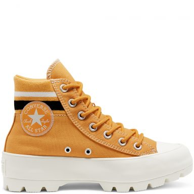 Varsity Lugged Chuck Taylor All Star à tige montante Sunflower Gold/Black/Egret grande taille